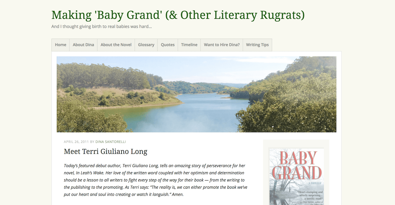 Making Baby Grand: The Long Process of Writing & Publishing
