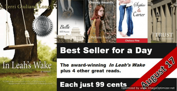 Make In Leah's Wake a best seller!