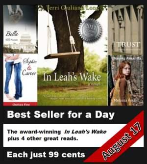 Best Seller for a Day: In Leah's Wake