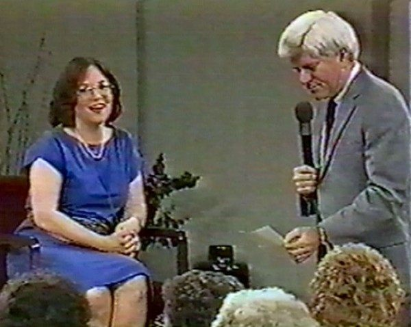 Ann Pearlman with Phil Donahue