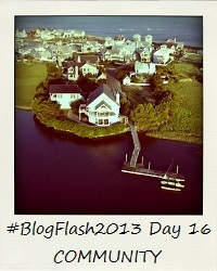 #BlogFlash2013 (March): Day 16 - Community