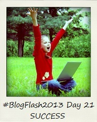 #BlogFlash2013 (March): Day 21 - Success