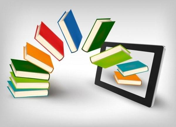 Books on ereader