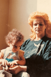 Matt and his Mom