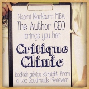 The Author CEO: Critique Corner