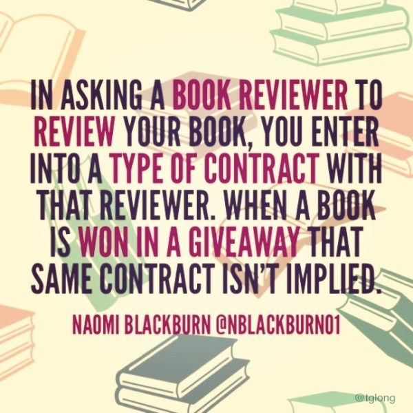 Review Contract - Naomi Blackburn