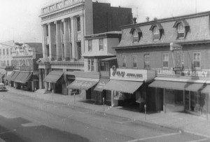 Main Street, Lansdale PA, 1957