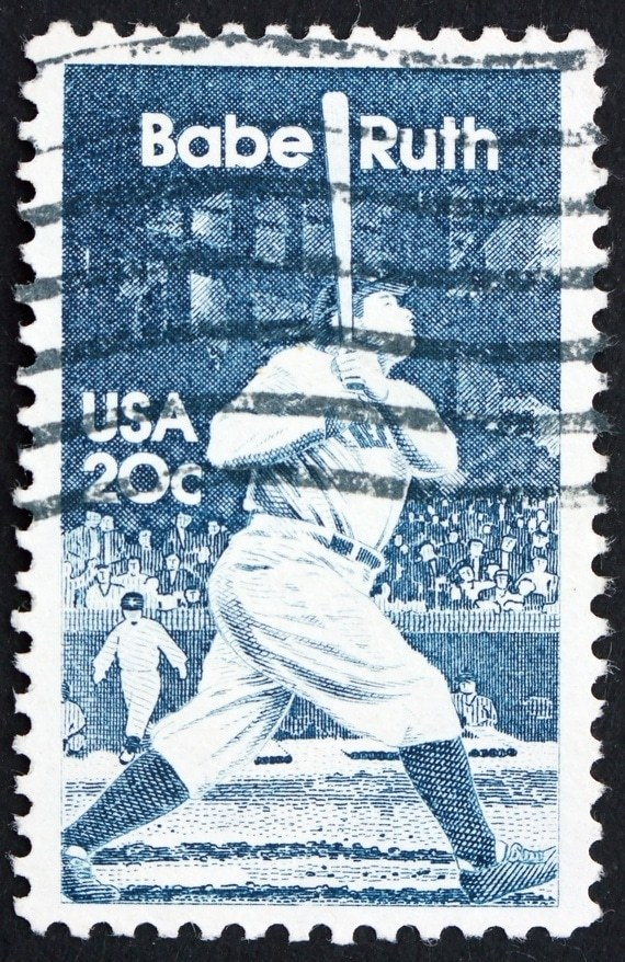 Babe Ruth US Stamp
