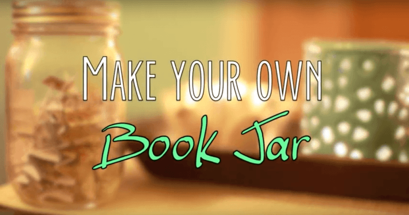 Make Your Own Book Jar
