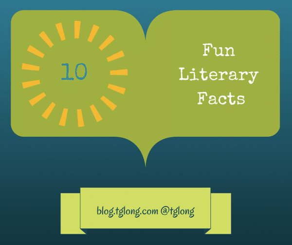Fun Literary Facts