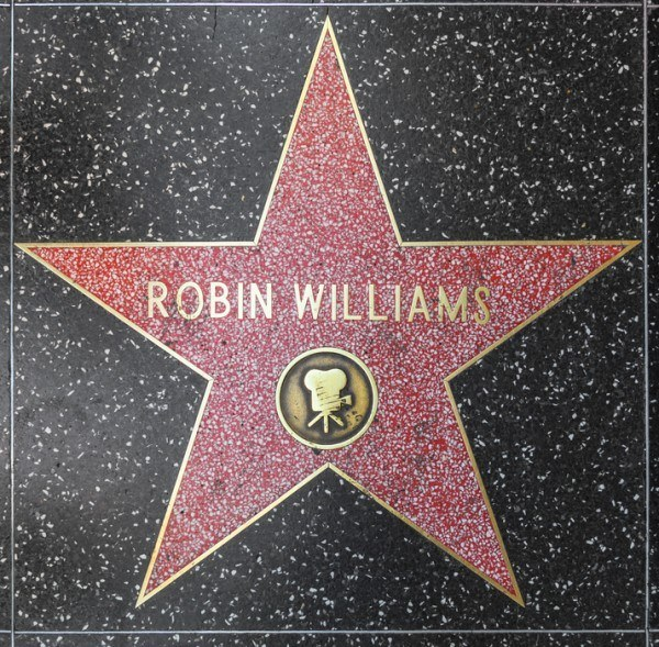 Robin Williams' star on Hollywood Walk of Fame