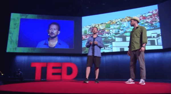TED: How Painting Can Transform Communities