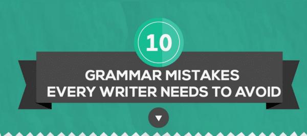 10 Grammar Mistakes to Avoid