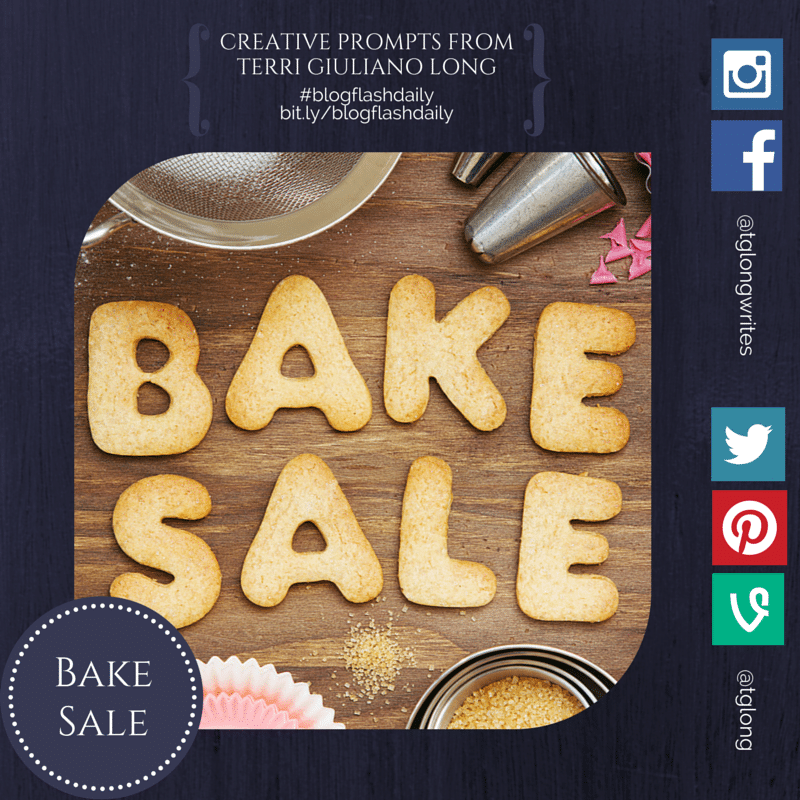 #BlogFlashDaily: Bake Sale
