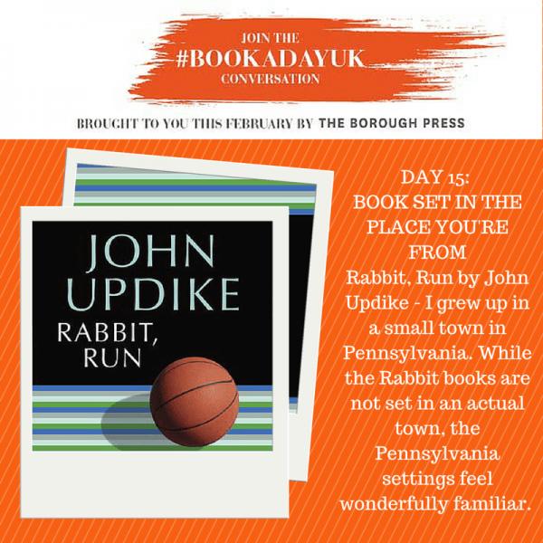 #bookadayuk: Day 15: Rabbit, Run