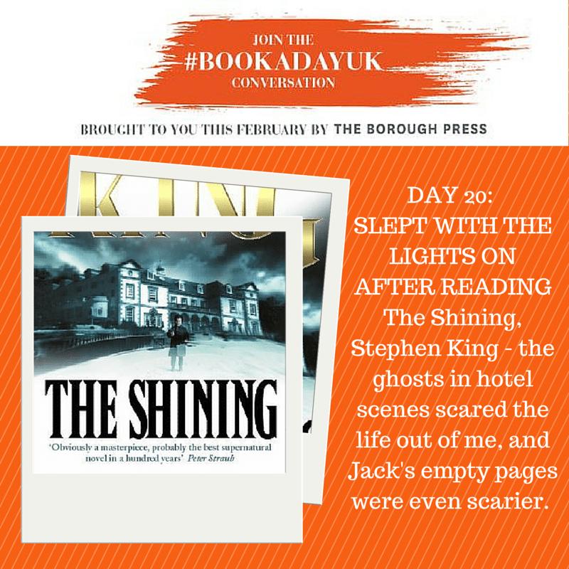 #bookadayuk: Day 20: The Shining