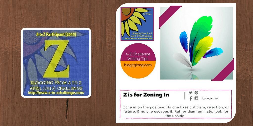 A-Z Challenge: Z