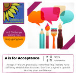 A to Z Challenge: A is for Acceptance