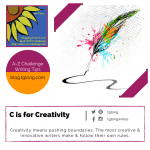 A to Z Challenge: C is for Creativity