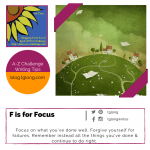 A to Z Challenge: F is for Focus