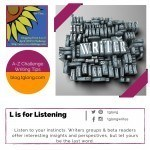 A-Z Challenge: L is for Listening