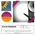 A-Z Challenge: N is for Notebook