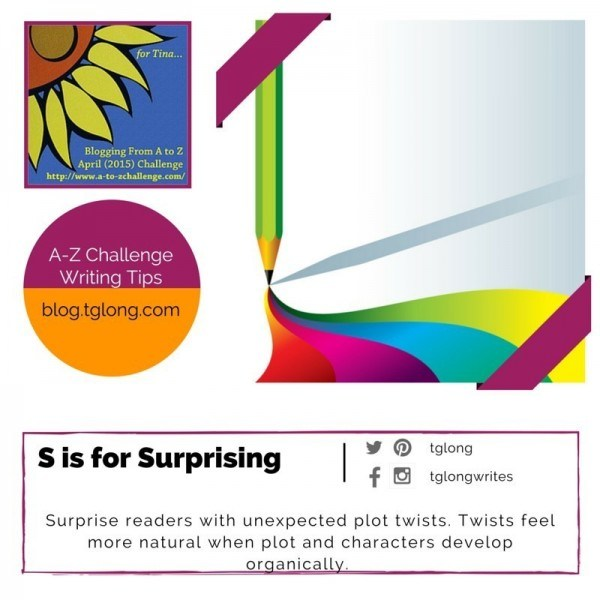 A-Z Challenge: S is for Surprising