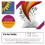 A-Z Challenge: V is for Verbs