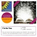 A-Z Challenge: Y is for You