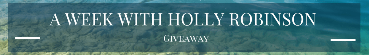 A Week with Holly Robinson: Giveaway