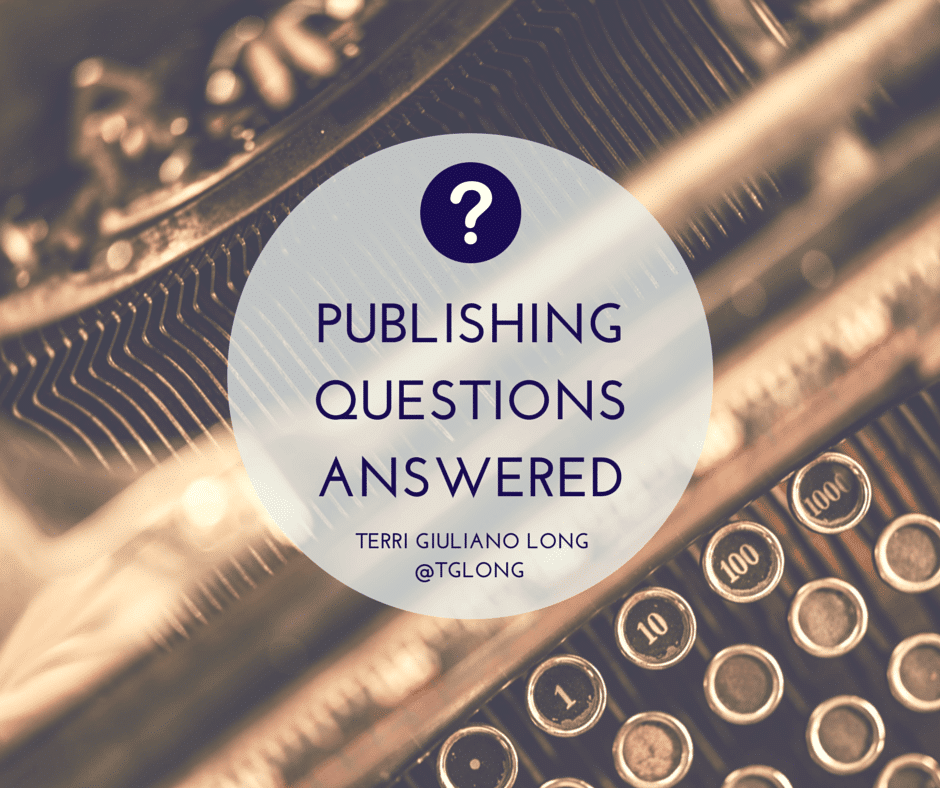 Publishing Questions Answered