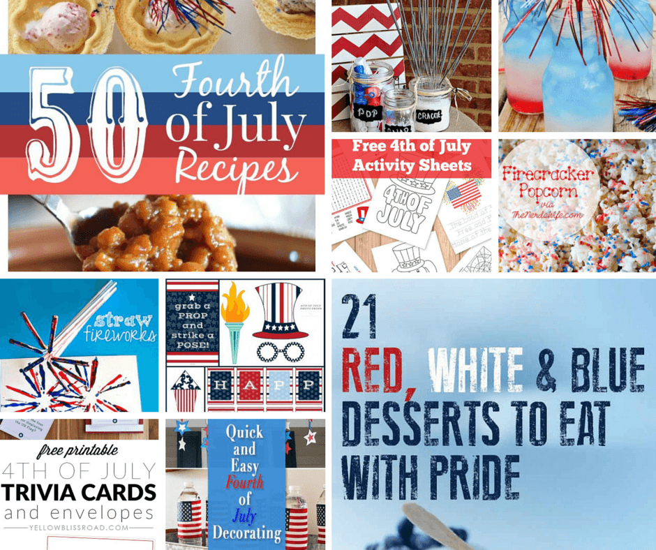 graphic about 4th of July Trivia Printable referred to as 10 Suitable Pinterest Alternatives for 4th July! Terri Giuliano Lengthy