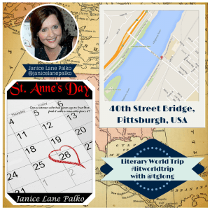 Literary World Trip: Janice Lane Palko