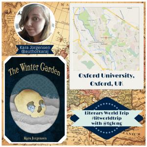 Literary World Trip: Kara Jorgensen