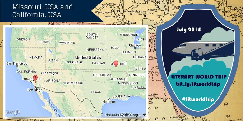 Literary World Trip stops: Missouri, USA and California, USA