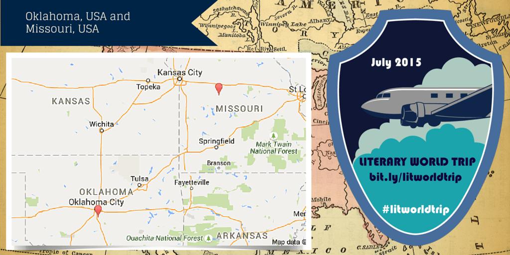 Literary World Trip stops: Oklahoma, USA and Missouri, USA