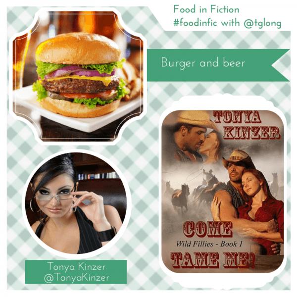 Food in Fiction: Tonya Kinzer