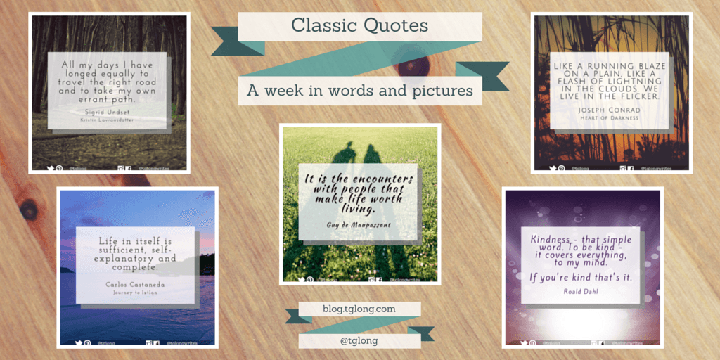 Classic Quotes 38 A Week In Words And Pictures