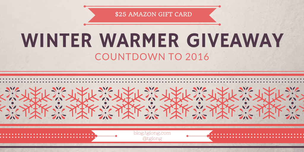 Winter Warmer Giveaway: Countdown to 2016
