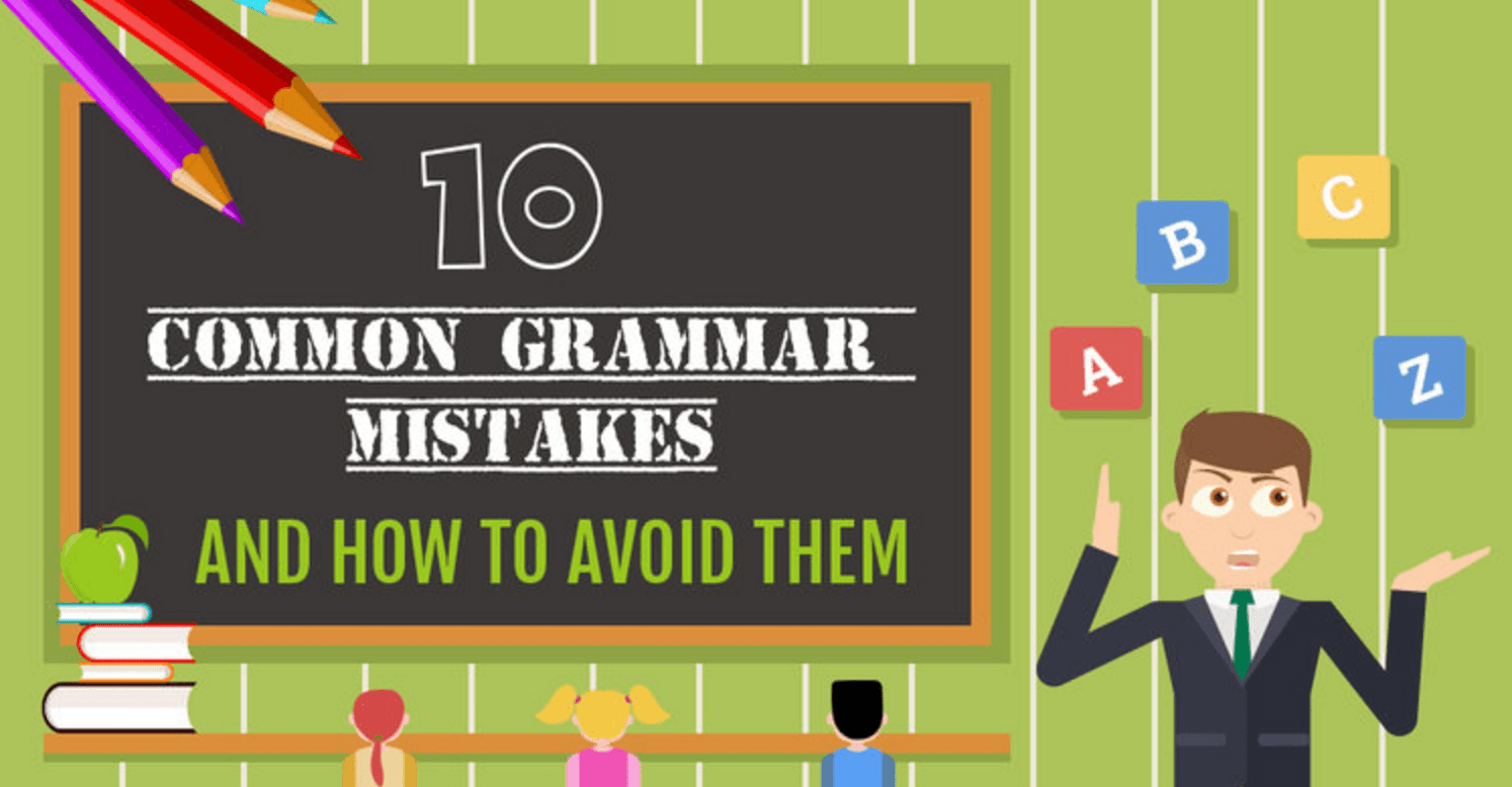 Infographic: 10 Common Grammar Mistakes and How to Avoid Them