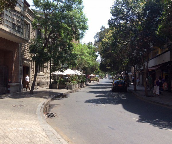 Barrio Lastarria, Santiago, Chile