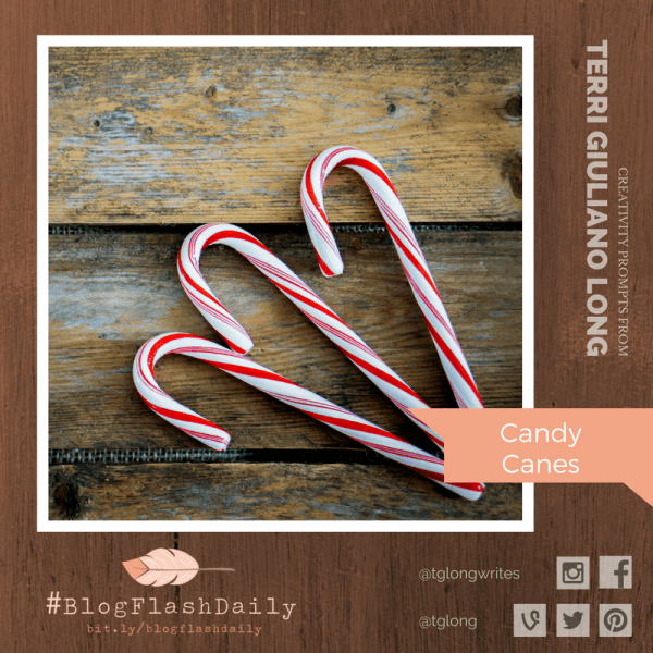 #BlogFlashDaily Creativity Prompt: Candy Canes