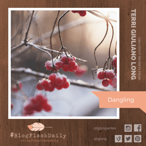 #BlogFlashDaily Creativity Prompt: Dangling