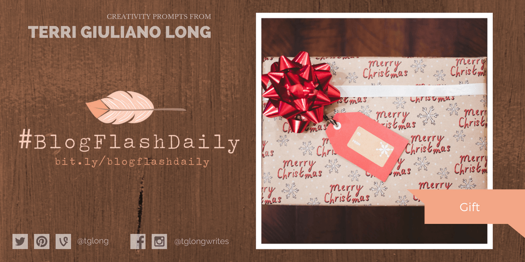 #BlogFlashDaily Creativity Prompt: Gift