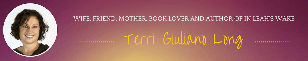 Terri Giuliano Long: Bestselling Literary Fiction Author | Blog Logo