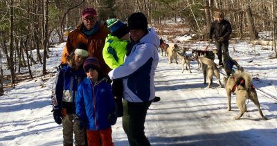 Dog Sledding in New England