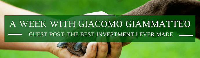 A Week with Giacomo Giammatteo: Guest Post