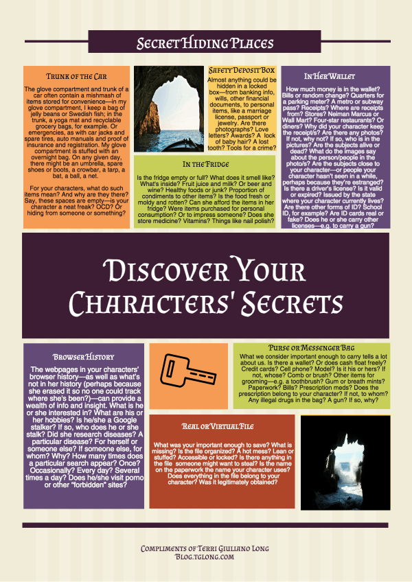 Characters' Secrets