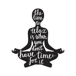 Achieve balance - meditation