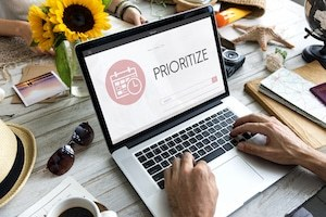 Achieve balance - prioritize